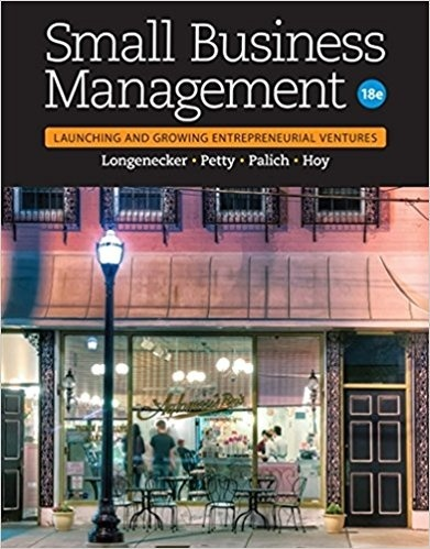 Small Business Management Launching and Growing 18 th edition ( PDF )
