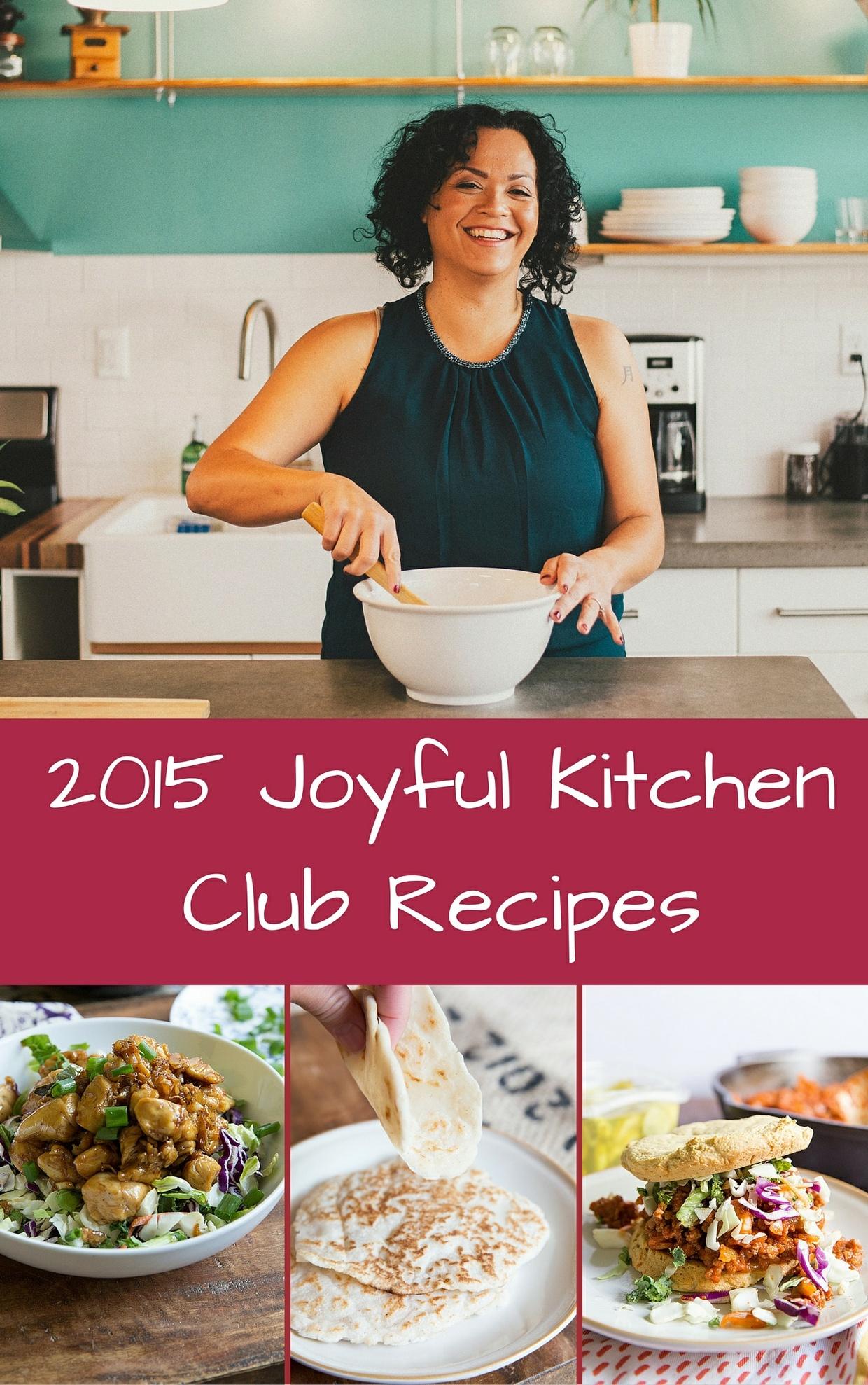 2015 Joyful Kitchen Club Recipes