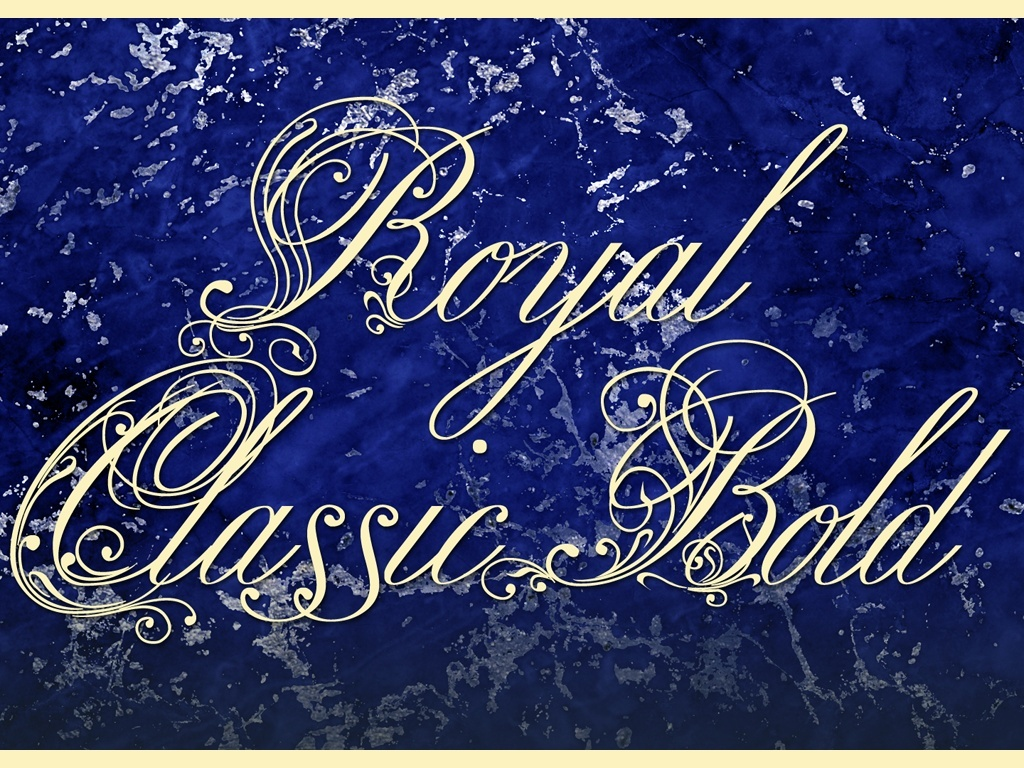 Royal Classic Normal and Bold Scripts
