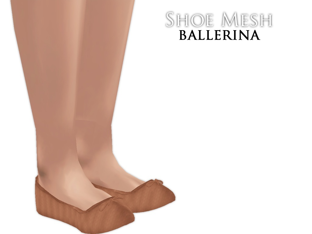 IMVU Mesh - Shoes - Ballerina