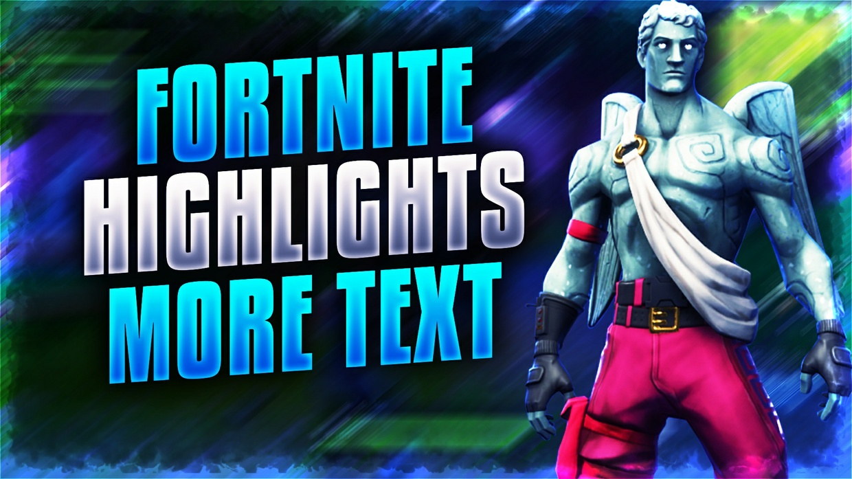 Fortnite Battle Royale Thumbnail Template Pack