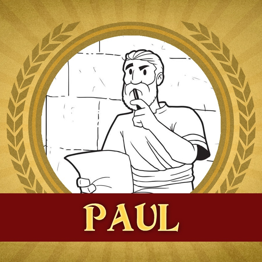 The Heroes Of The Bible Coloring Pages Paul