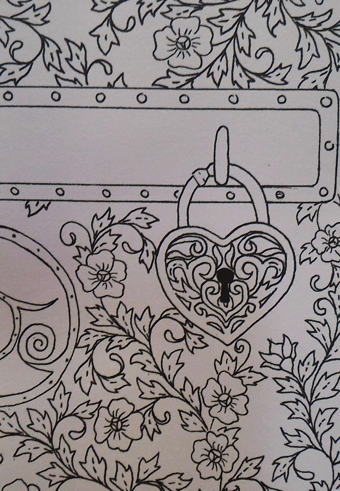 Printable Coloring Card Key to
