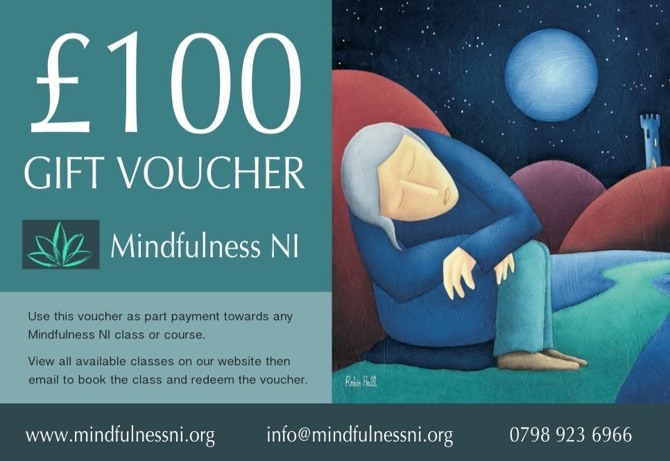 Mindfulness NI £100.00 Gift Voucher