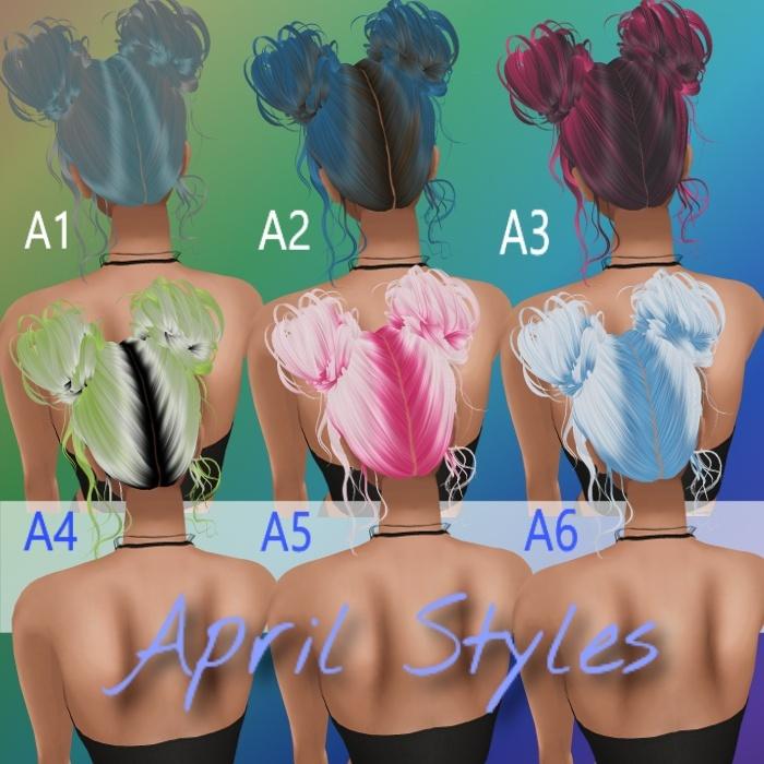 April Hair Textures