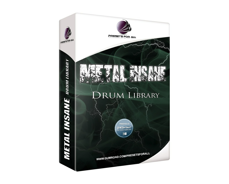 METAL INSANE Drum Library   NI Kontakt 5