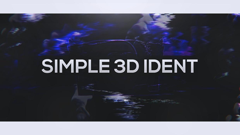 Simple 3D Ident