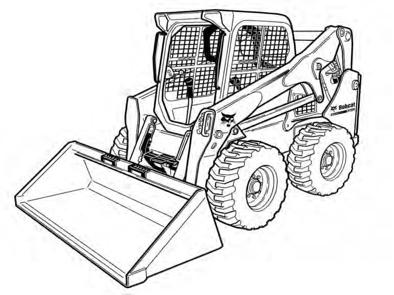 Bobcat S850 Skid-Steer Loader Service Repair Manual(S/N ACS711001 & Above ACSL11001 & Above)