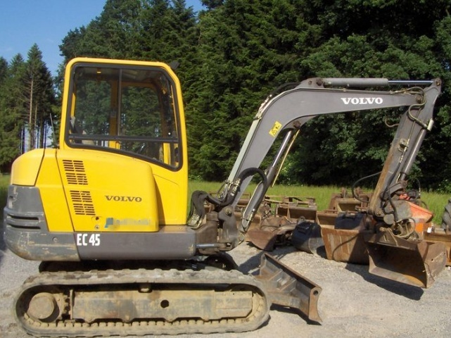 VOLVO EC45 COMPACT EXCAVATOR SERVICE REPAIR MANUAL - DOWNLOAD