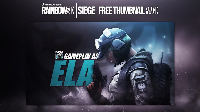Rainbow Six: Siege   Thumbnail Template