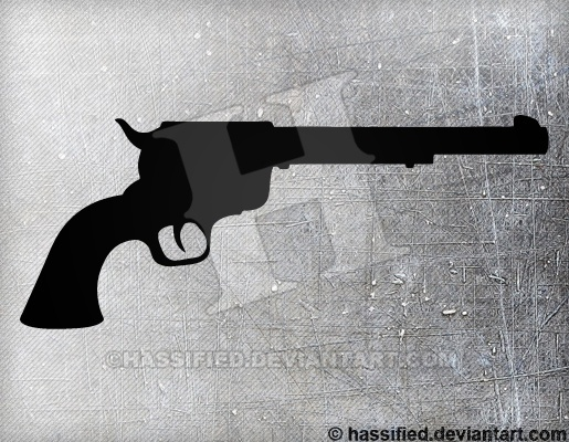 Colt Pistol - printable, vector, svg, art
