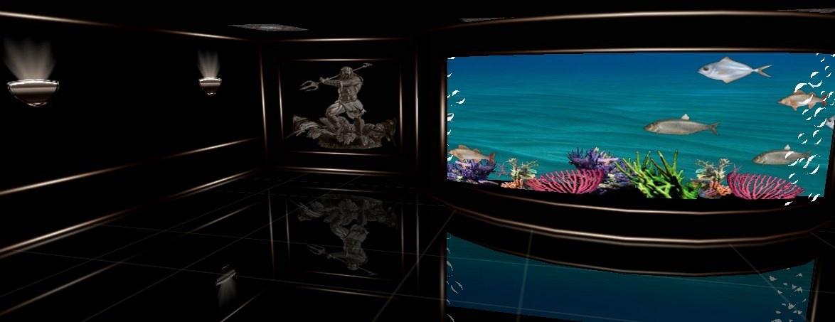 Poseidon 25 textures room