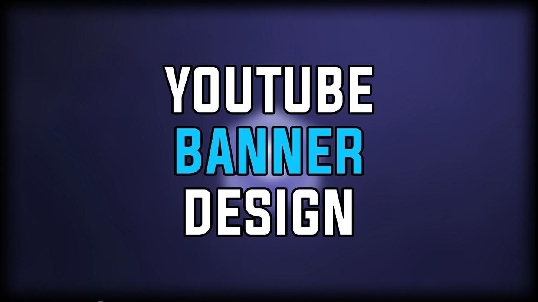Youtube Banner Design + Free Logo