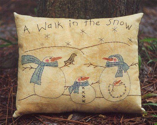 #328 Walk In The Snow E Pattern