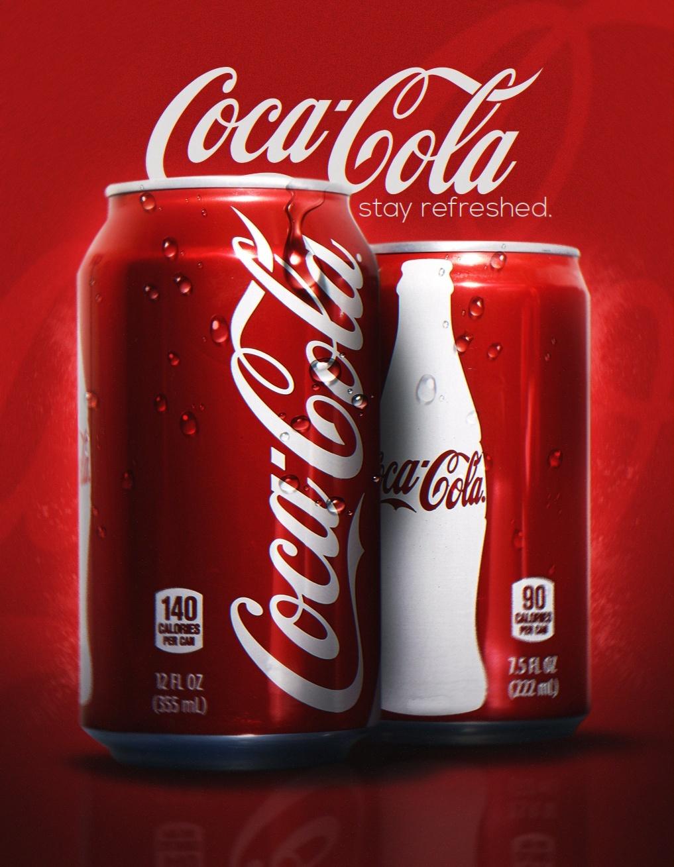 Coca Cola Advertisement PSD
