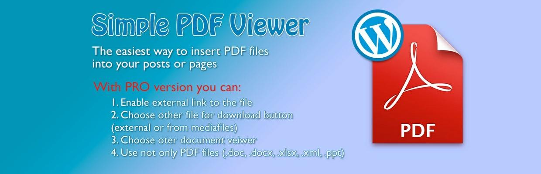 Simple PDF Viewer PRO