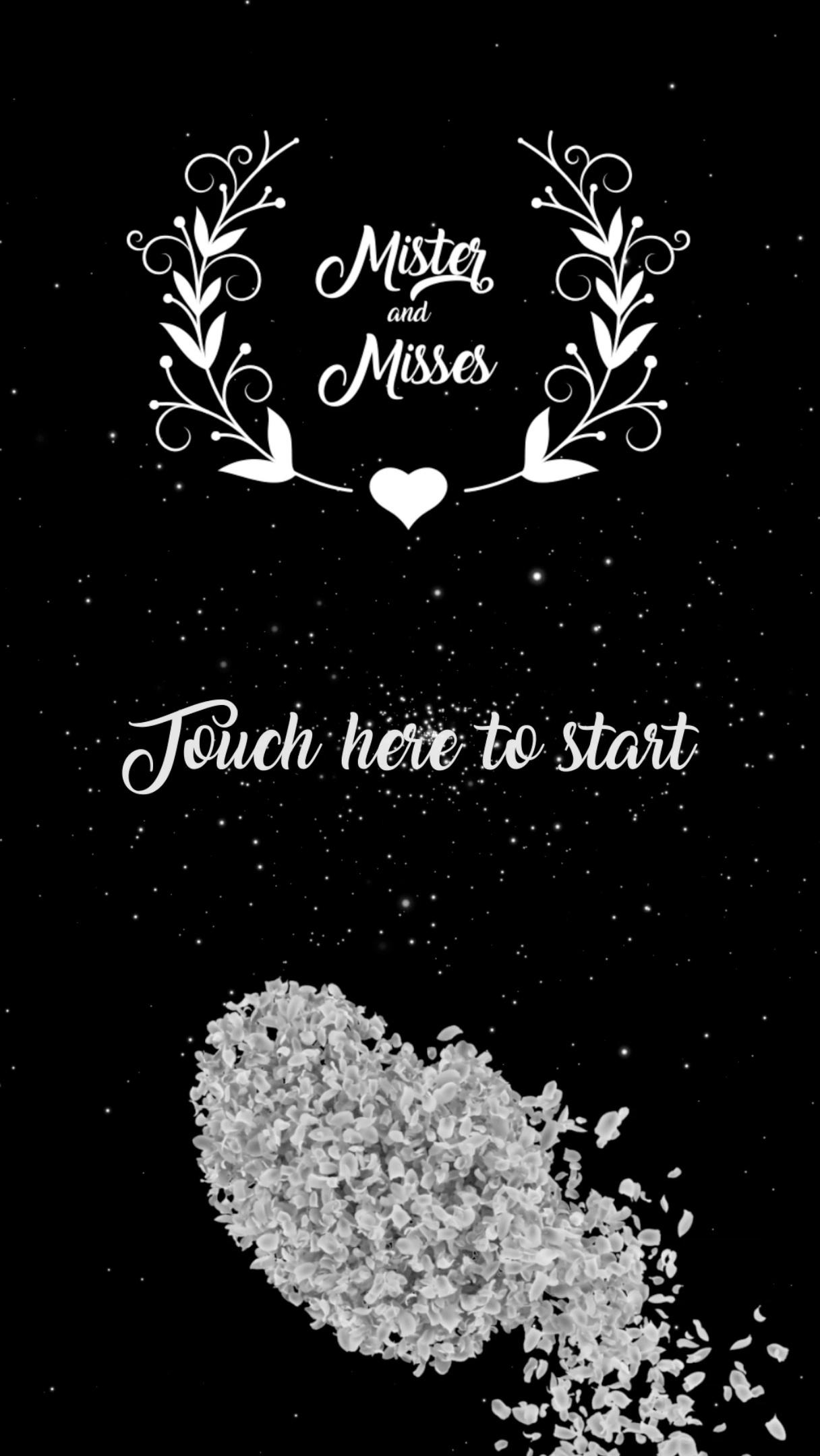 Wedding Start Page 1