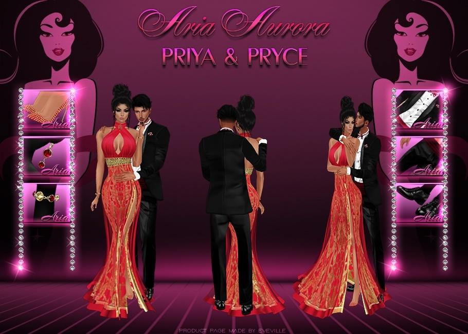 Priya & Pryce Bundle. No Resell!!