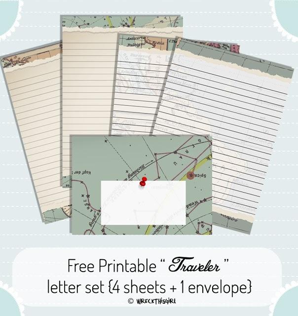 Traveler Letter Set
