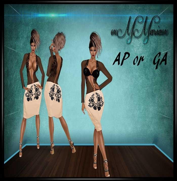 Kim Dresses Ap or Ga No resell rights!!