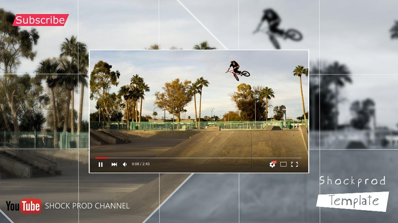 Template Youtube Slideshow sony vegas 12 13 14