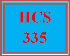 HCS 335 Week 1 Weekly Summary