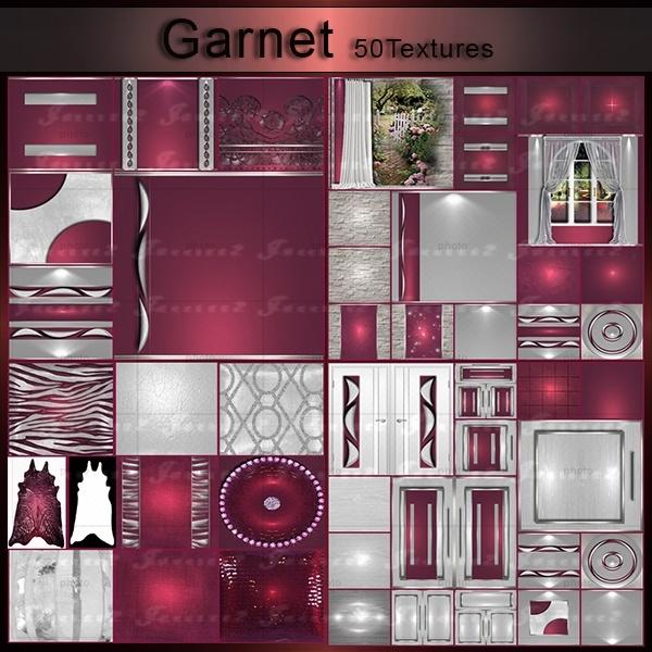 [J]Garnet PACK 50 TEXTURES