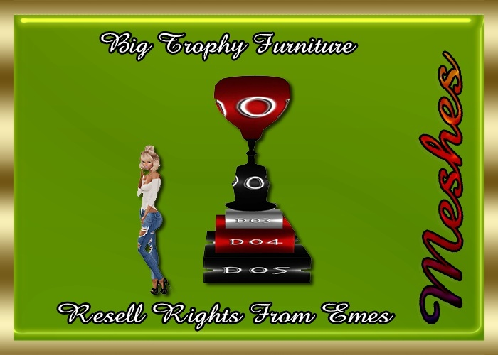 Big Trophy Furniture Catty Only!!!