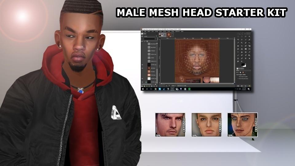 Mesh Head Kit Male and Female Bundle SAL & ICO