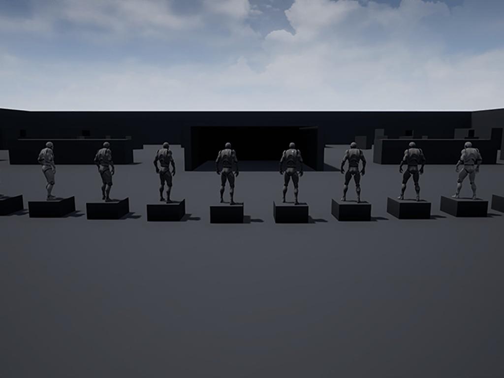 FPS Battle Royale Template for UE4