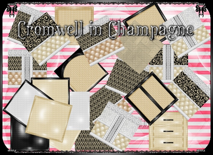 💎 Cromwell Champagne Room Set