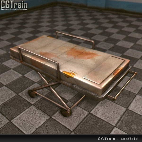 Hospital Bed (based on Wasteland2 concepts)