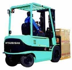 Mitsubishi Electric Forklift Truck FB20K, FB25K, FB30K, FB35K Workshop Service Manual