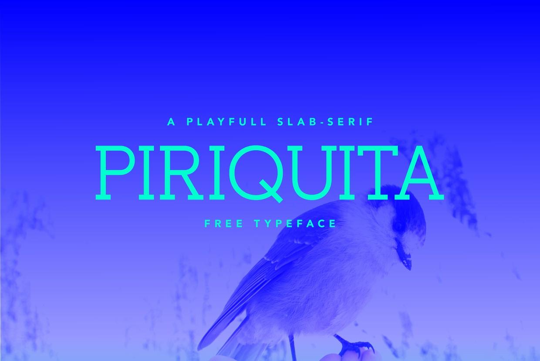 Free Font - Piriquita