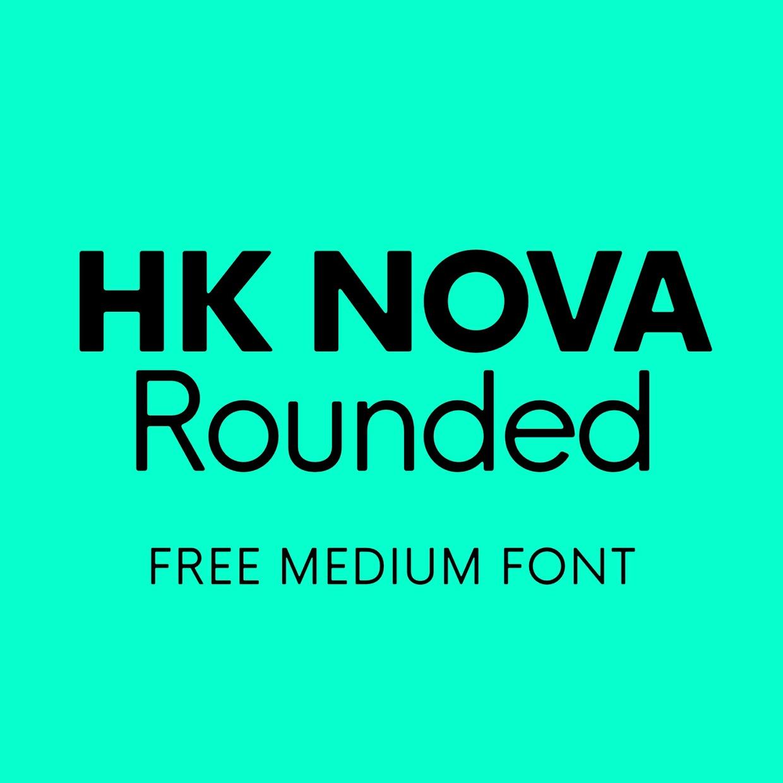HK Nova™ R Medium Free Font