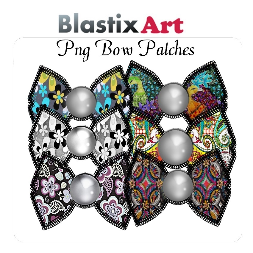 Png  Bow  patches