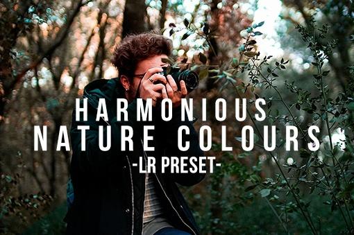 Harmonious Nature Colours - Lightroom Preset