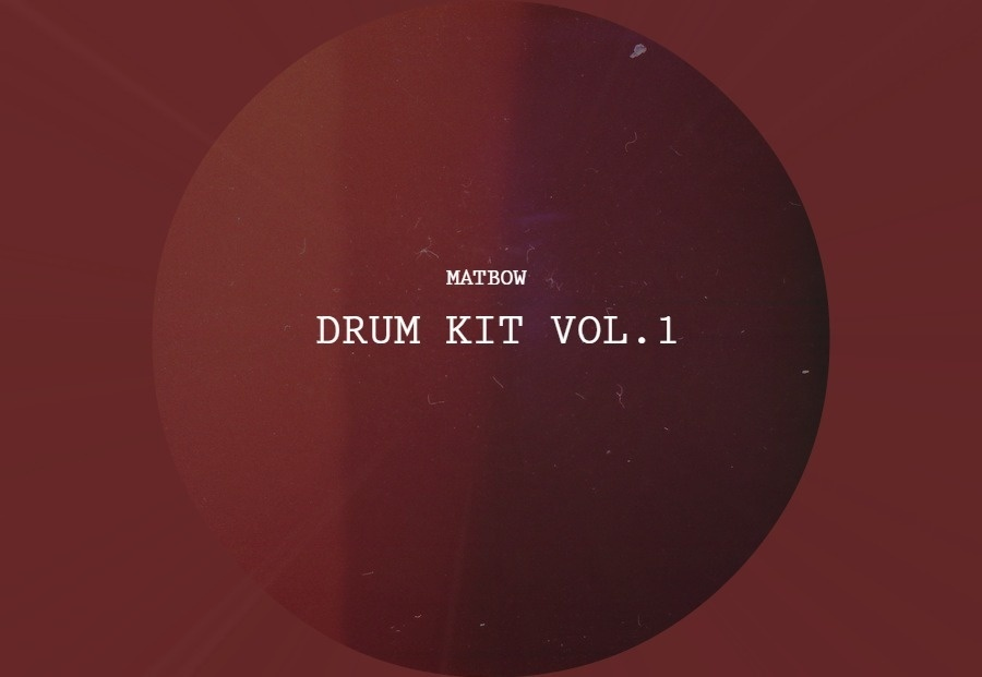 Matbow - DRUM KIT VOL.1