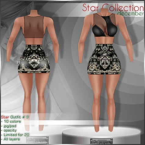 2014 Star Outfit # 9
