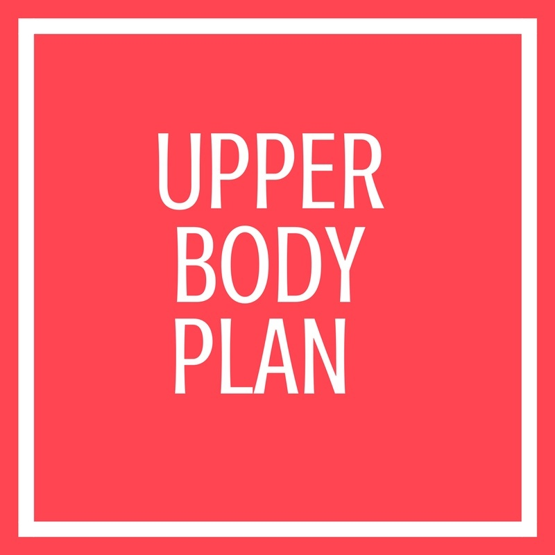 Upper Body Plan
