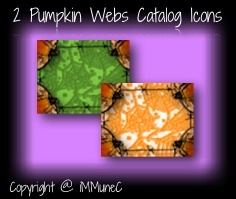2 Pumpkin Web Catalog Icons