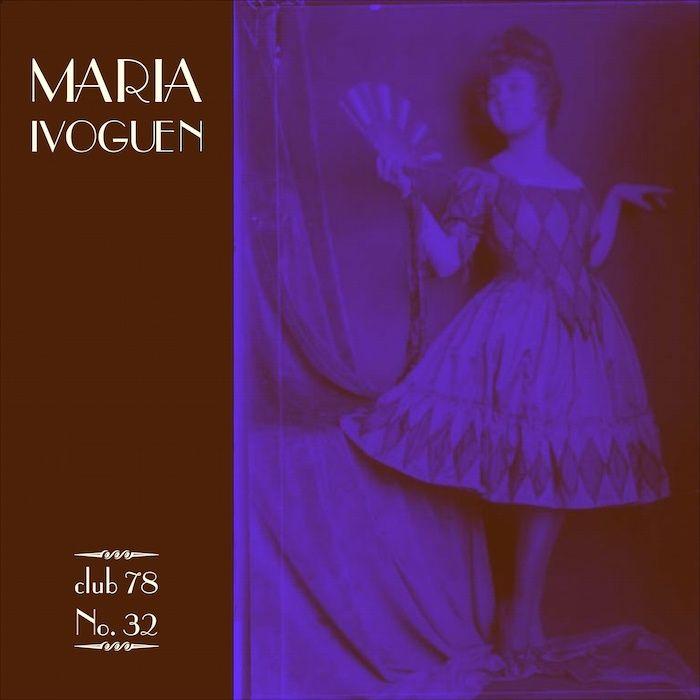 Maria Ivogün * club 78 No. 32