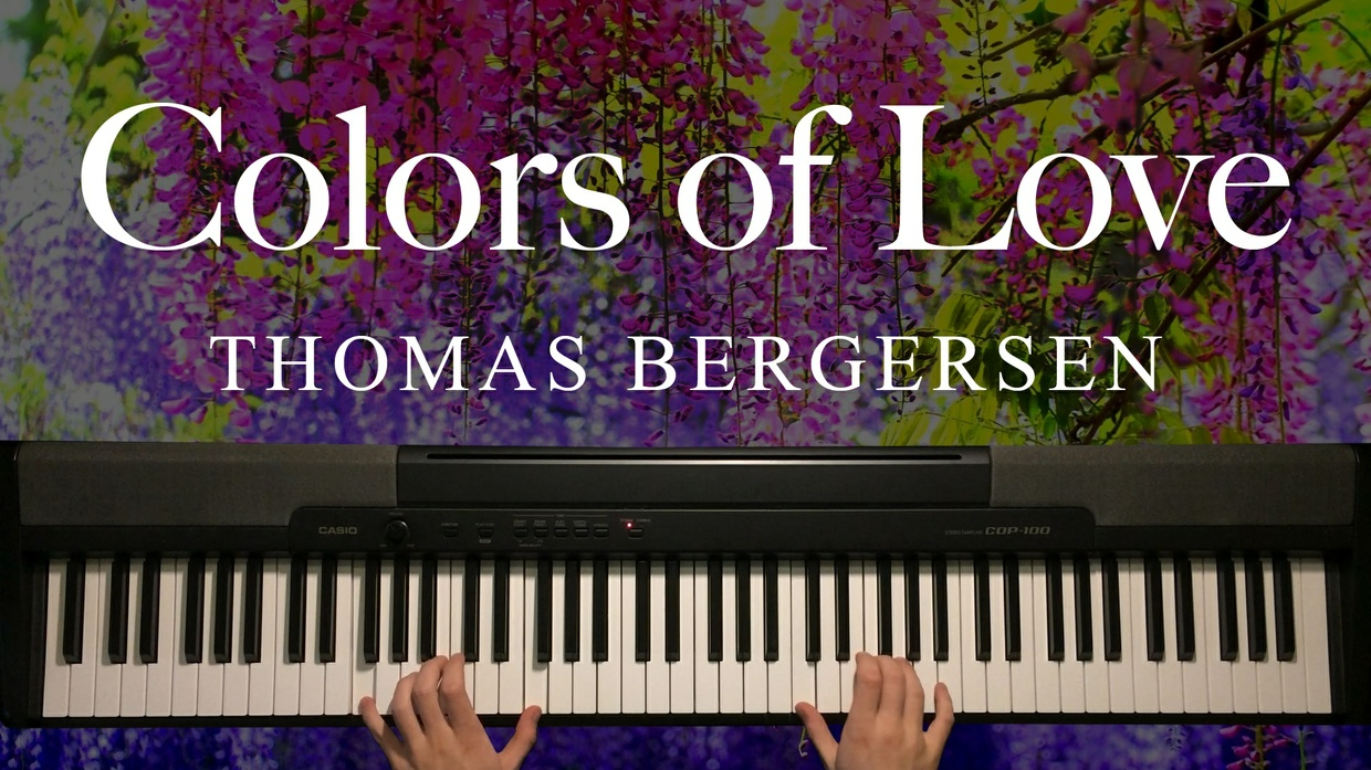 Colors of Love Piano Sheet Music (Two Steps From Hell)