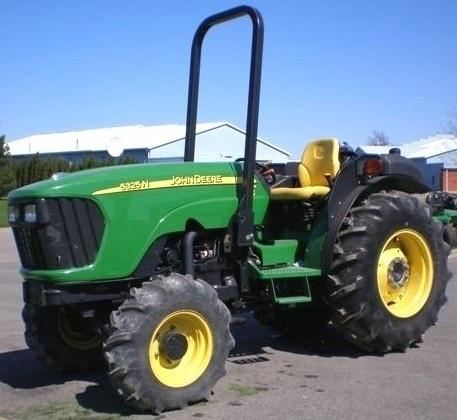 John Deere 5325N, 5425N and 5525N USA Tractors Diagnosis and Tests Service Manual (TM2198)