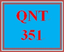qnt 351 one population hypothesis test Qnt 351 week 1 connect problem set 1 which of the following is an example of  a continuous variable  the reported unemployment is 55% of the population.