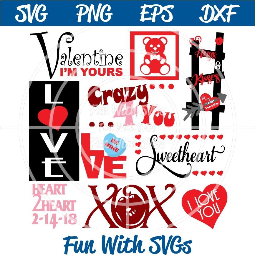 Valentine Subway Art, SVG File, Digital, Printable, Edit and Cut flie