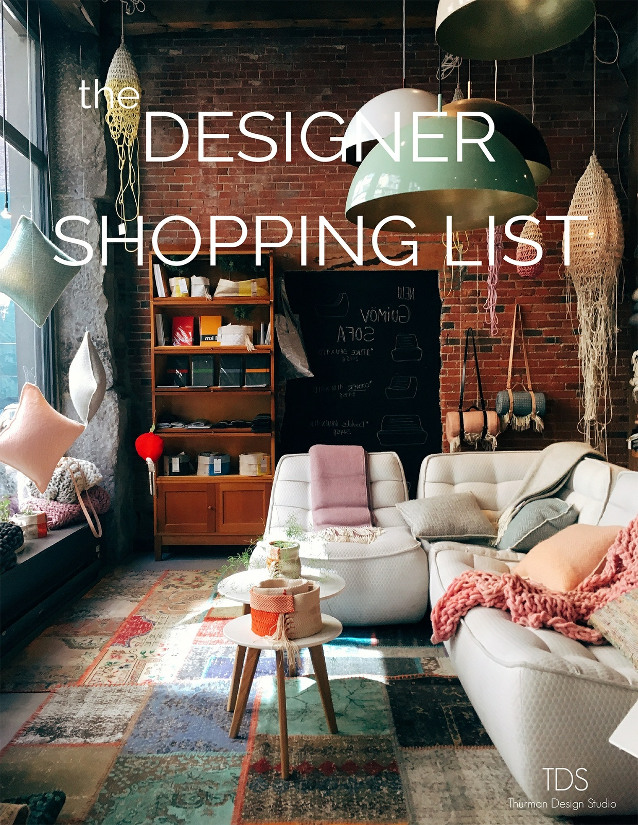 TDS- the Designer Shopping List
