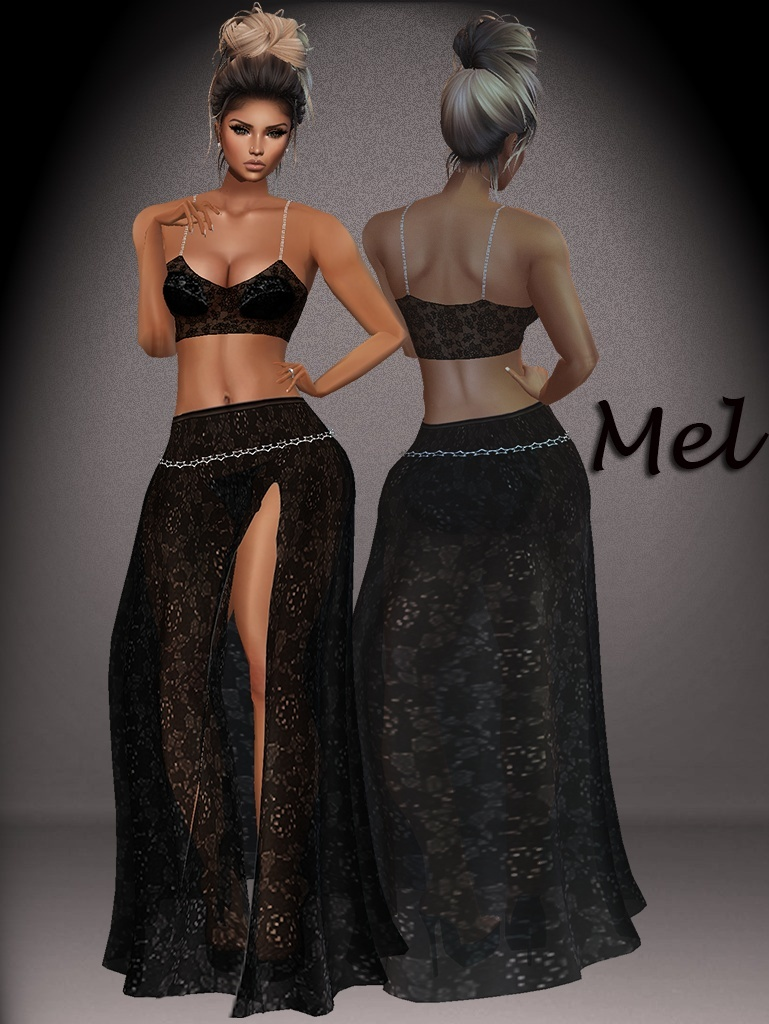 Mel GA Skirt & Top