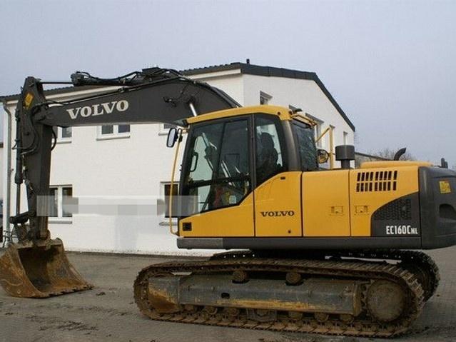 VOLVO EC160C NL EC160CNL EXCAVATOR SERVICE REPAIR MANUAL - DOWNLOAD