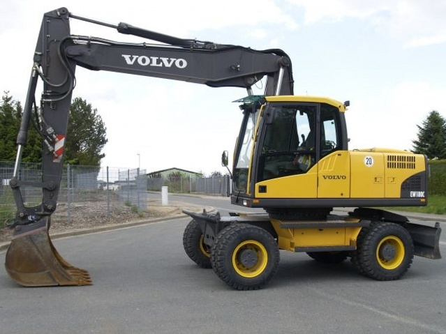 VOLVO EW180 WHEELED EXCAVATOR SERVICE REPAIR MANUAL - DOWNLOAD